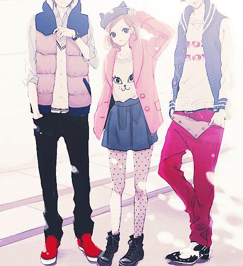 Las Etiquetas Mas Populares Para Esta Imagen Incluyen Anime Fashion Cute Anime Boy Y Art Anime Style Anime Outfits Anime Guys Shirtless