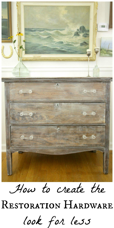 Restoration Hardware Look For Less Bedding Dresser Antiques Furniture Home