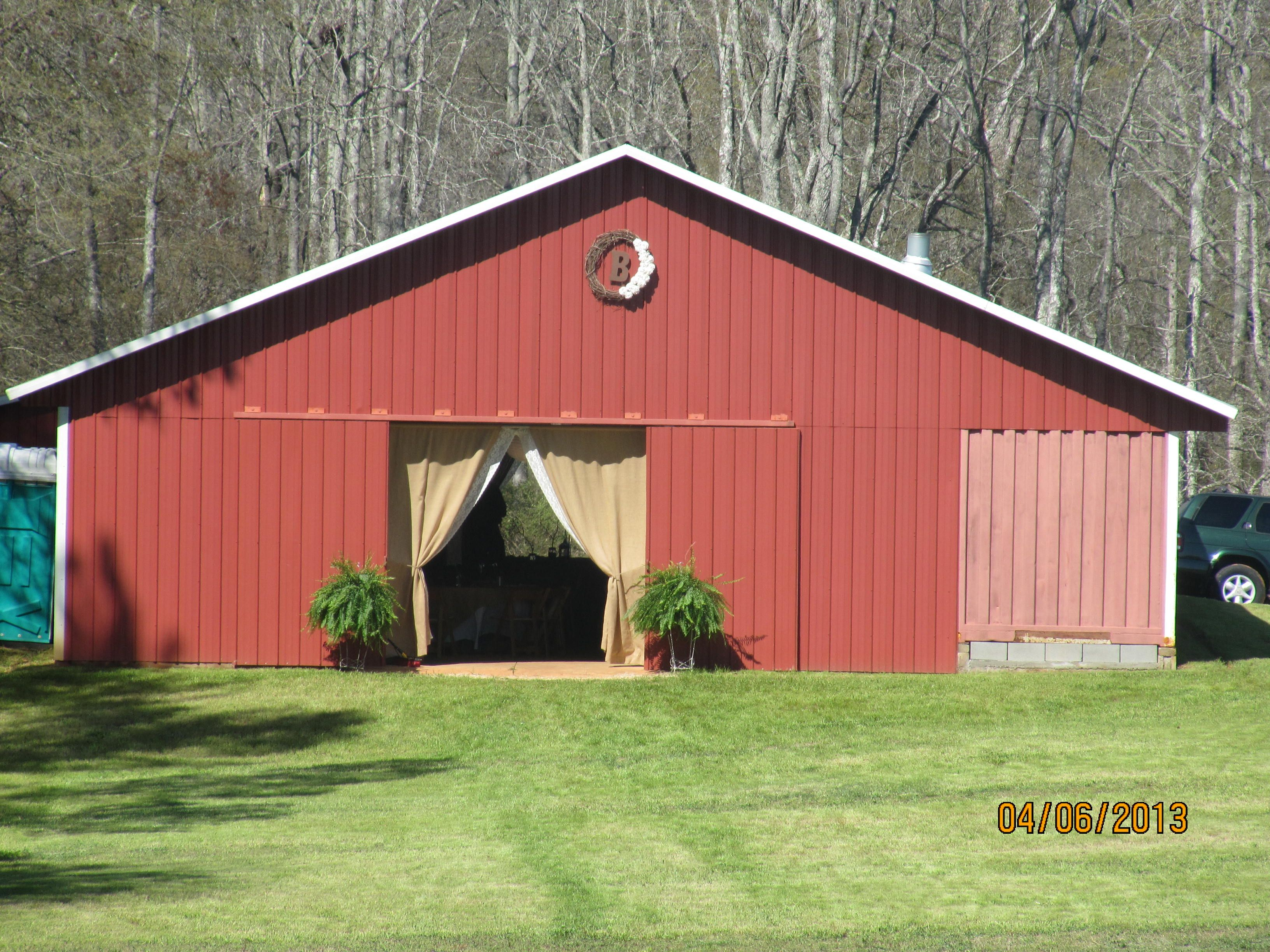 The Red Tin Barn Is Now Booking Weddings Check Out Our
