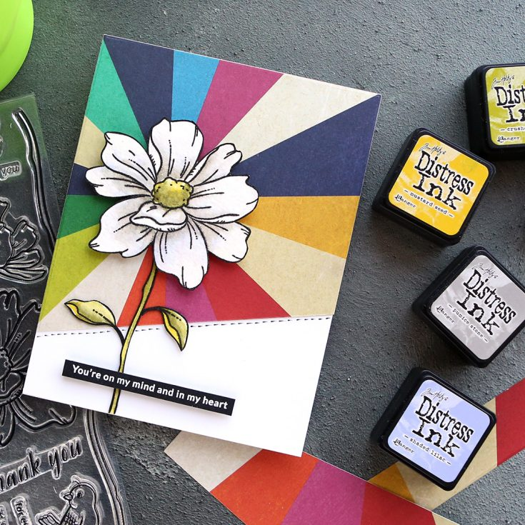 Watercoloring White Flowers with Kristina Werner – September 2019 Card Kit Inspiration - Simon Says Stamp Blog #cardkit