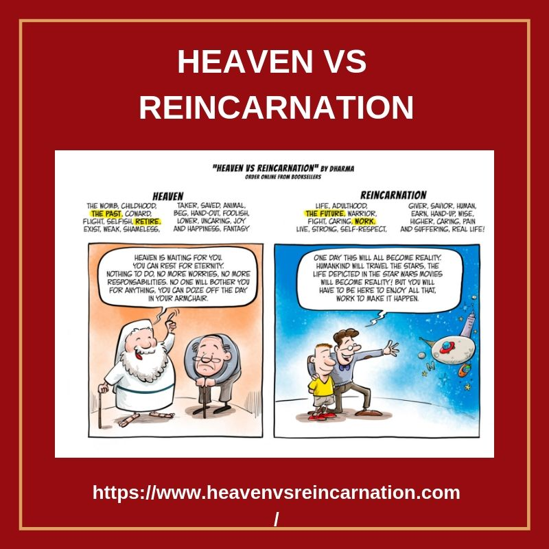 Heaven is for the retired those who gave up on life and