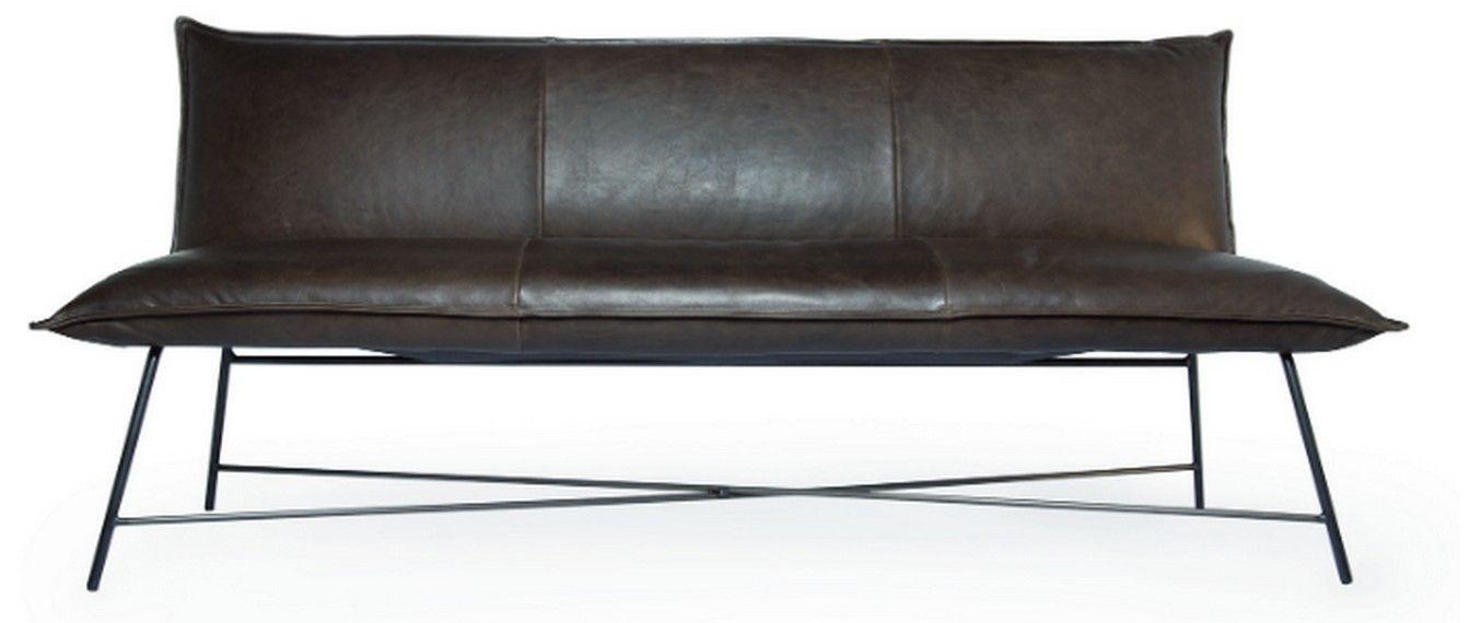 Bank LAX   Mit Rückenlehne, 240 Cm, Leder 2 Farbe 2600, Gestell: Edelstahl  Gebürstet | MEAT | Pinterest | Banks, Bench And Dining