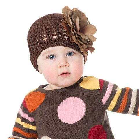 Double Dutch Chocolate Beanie Baby Hat #Melondipity | Baby ...