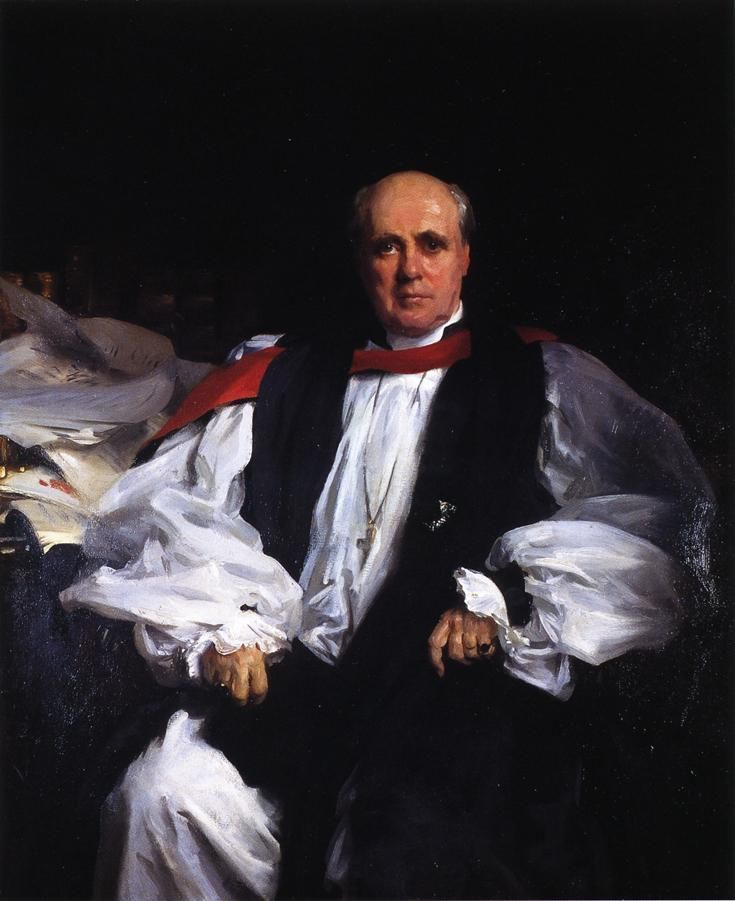 The Archbishop of Canterbury (Randall Thomas Davidson) - John Singer Sargent