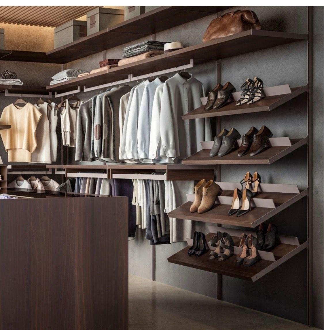 Pin by Gl L on Scarpiera | Walk in closet, Shoe rack, Drawers
