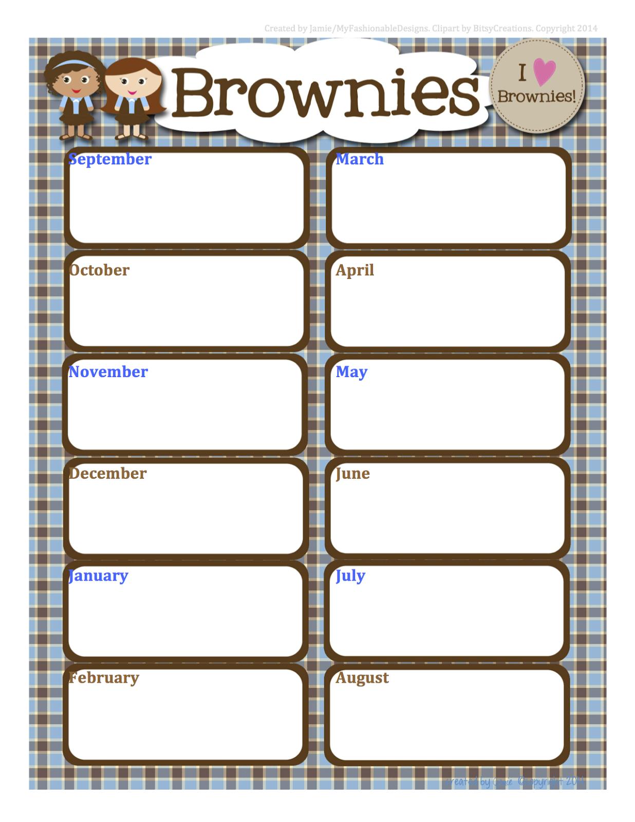 Girl Scout Cookie Goal Worksheet