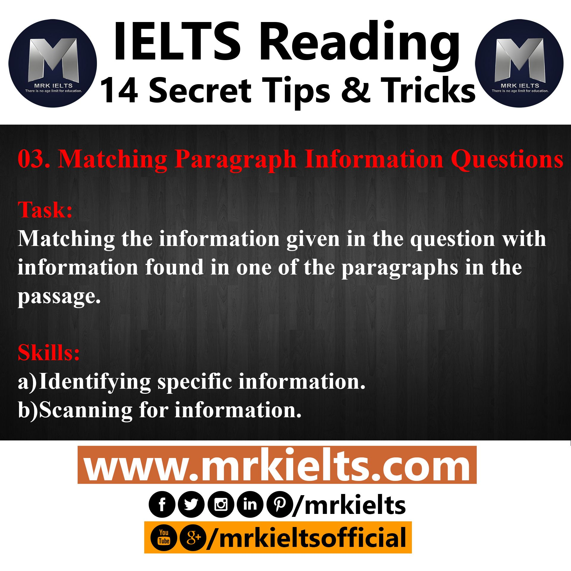Paraphrase The Information In Question Ielt Ieltsreading Ieltswriting Ietslistening Ieltsspeaking Dhaka Mrkielt Reading Writing Exercise Ielts