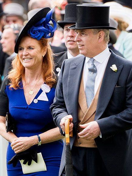 Prince Andrew And Ex Wife Fergie Come Together For A Fashionable
