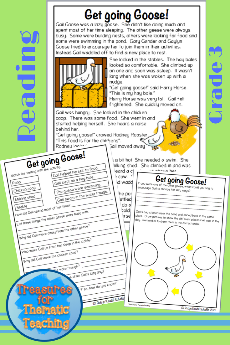 - Farm Animals Reading Comprehension Passages And Questions