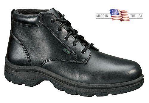 c0fae52969e Thorogood 534-6906 Women's Plain Toe Chukka Boot Black Thorogood ...