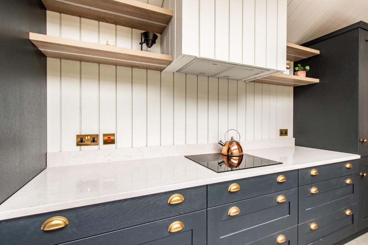 Galley Kitchen — Herringbone Kitchens Galley kitchen