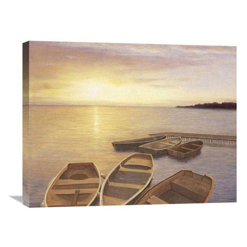 Global Gallery Boats at Dock Wall Art - GCS-130657-2024-142 ...