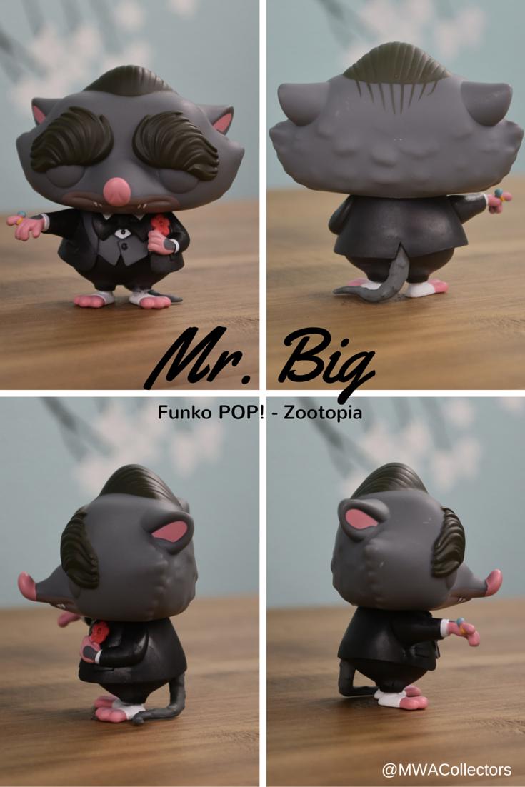 Disney S Zootopia S Mr Big Funko Pop Figure Disney