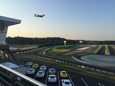 An exhilarating experience , Porsche driving center