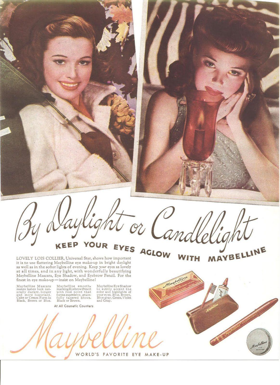 Vintage maybelline retro pinterest maybelline