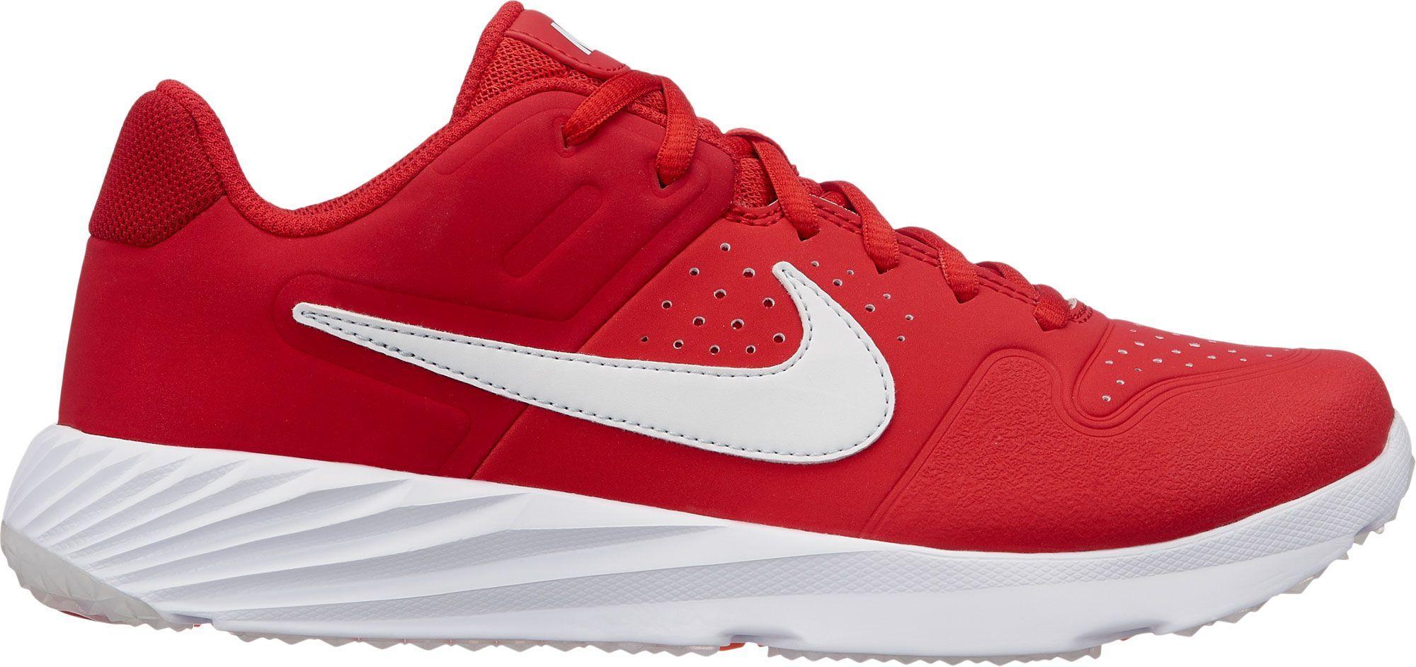 quality design 2094c 540fc Nike Kids  Alpha Huarache Varsity Turf Baseball Cleats, Size  5.0, Red