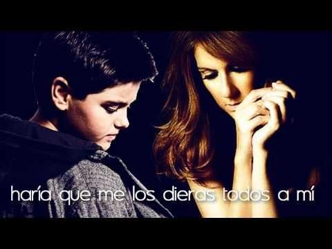 Celine Dion y Abraham Mateo - I surrender (español)