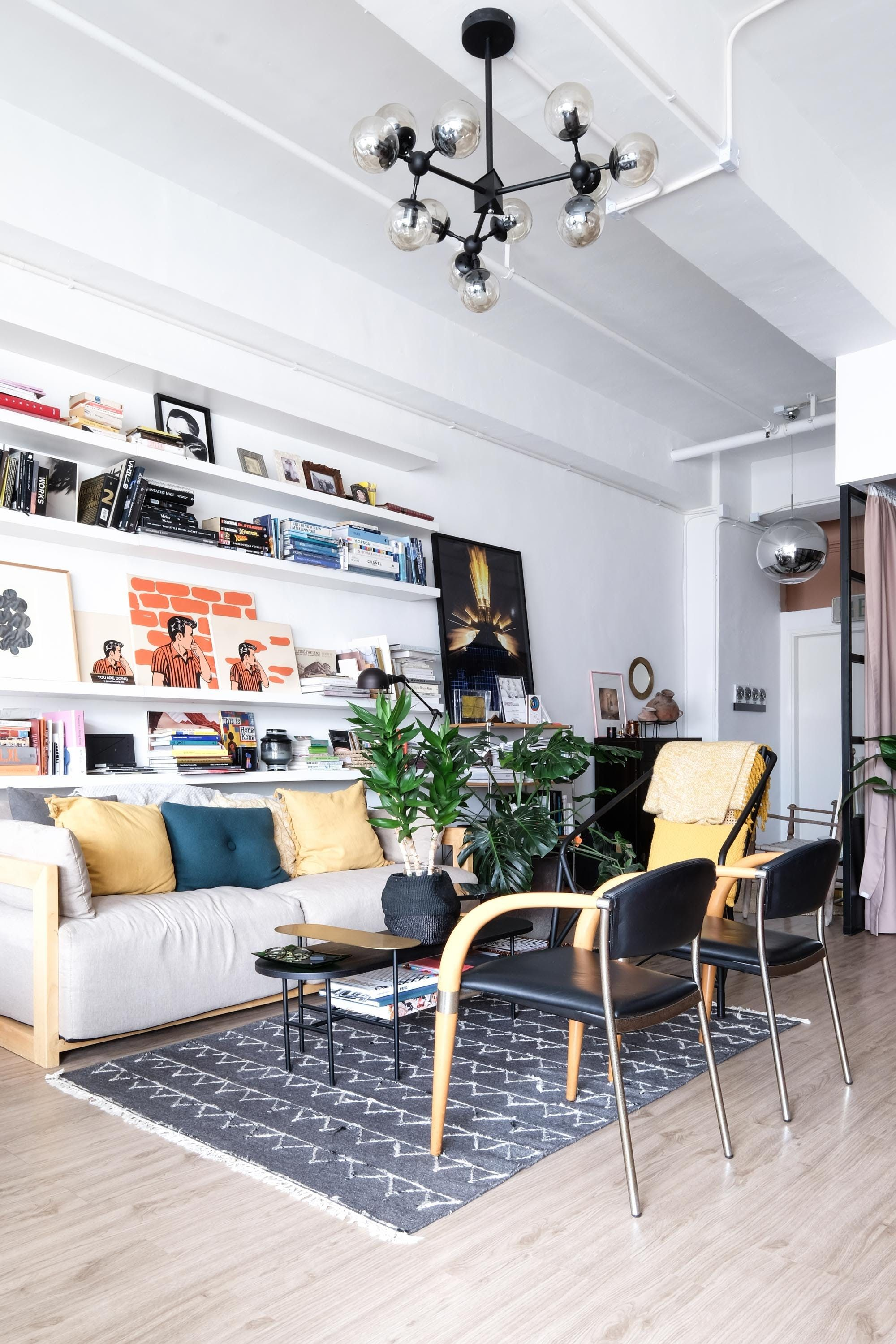 This Handsome Hong Kong Space Has Style (and Lots And Lots Of Cool Chairs)