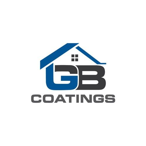 GB Coatings Create A Simple Yet Effective Logo For A Roof Coating