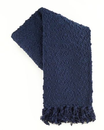 Fringed Woven Throw, Main View