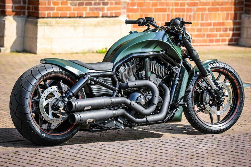 Harley Davidson V Rod Green Poison By Thunderbike Motorbike Motorcycles Ceskytrucke Harley Davidson V Rod Harley Davidson Painting Harley Davidson Helmets