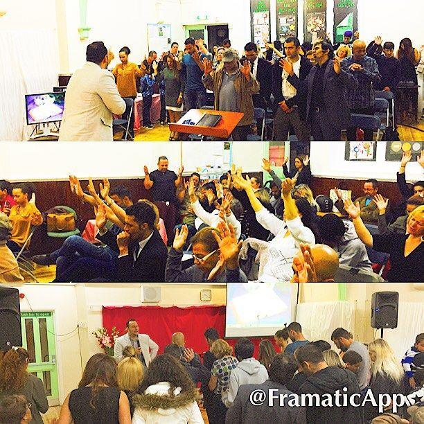 Tempo Especial com os Irmãos da         The Lord is Our Justice Church - London Uk  Pr Ed. Hoje Vidas Se entregaram para Jesus - Glória Deus