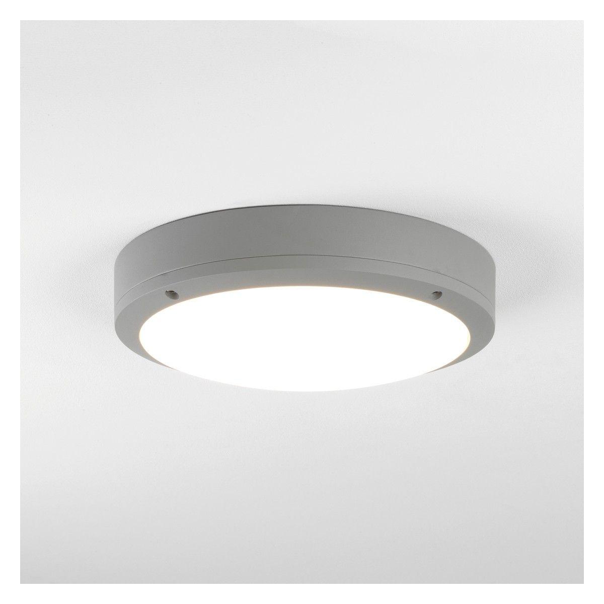 Arta arta silver metal and glass outdoor wall light ip54