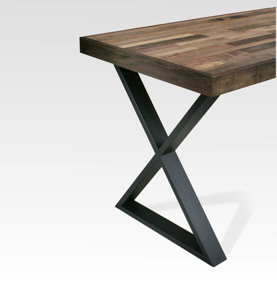 Table Legs Steel X Black Matte Pair Table Legs Pinterest