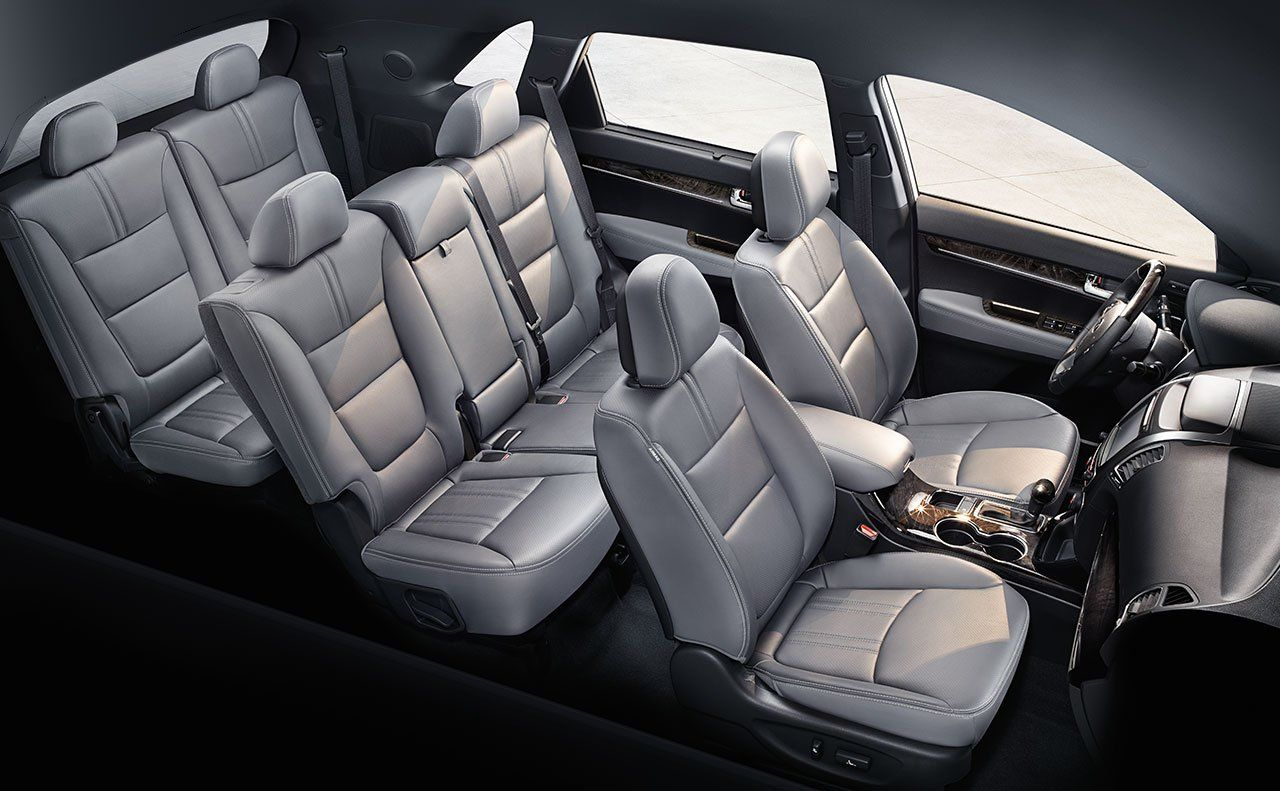 2015 Kia Sorento Crossover SUV   2015 Sorento Limited Interior