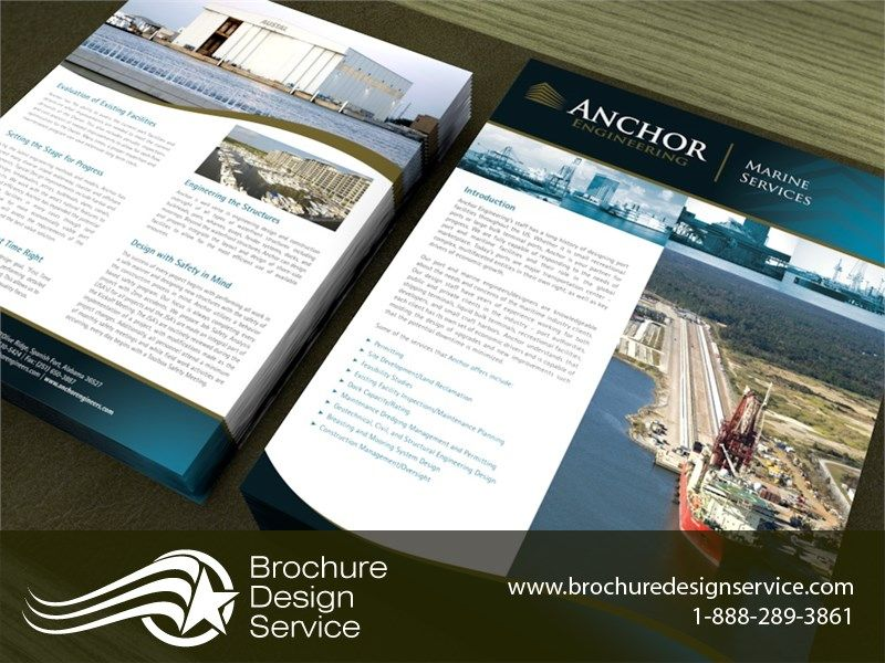 Brochure Sample Anchor Engineering DoubleSided Flyer Ltr