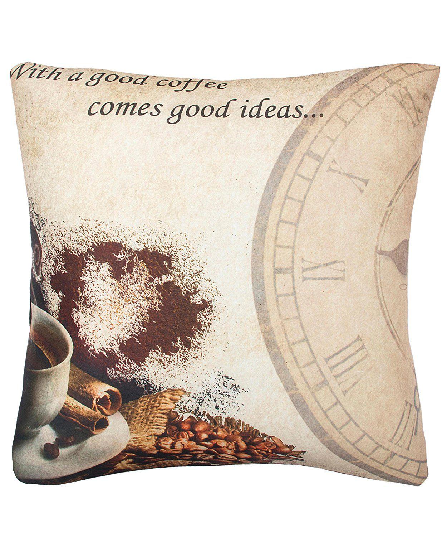Casa copenhagen exotic digital premium cushion cover multicolor