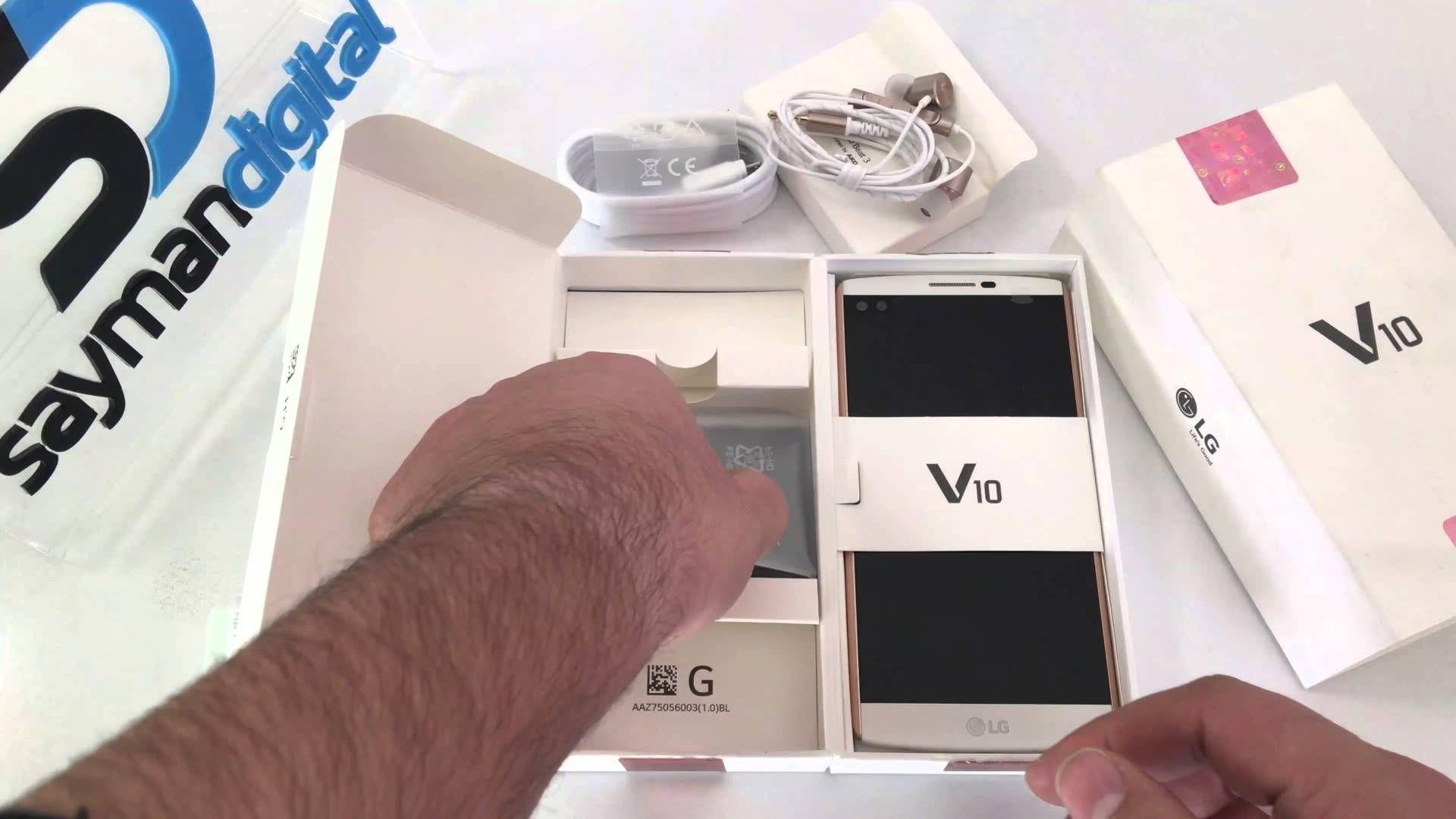 آنباکس ال جی V10 توسط سایمان دیجیتال Lg V10 Unboxing Electronic Products
