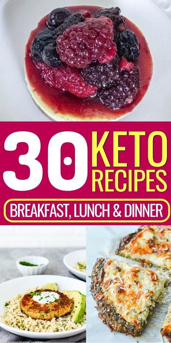 Looking for keto recipes for breakfast, lunch, and dinner? This keto meal plan g…