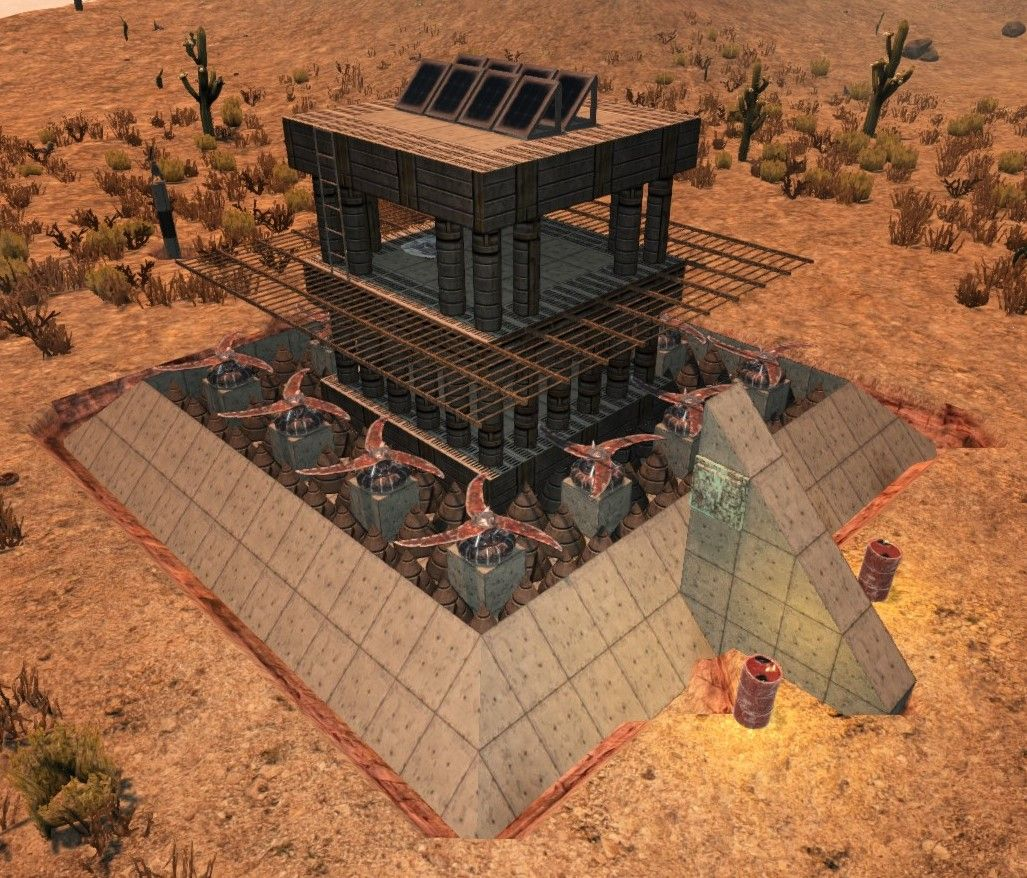 Alpha 16 Base Ideas And Defense With Electricity With Images 7