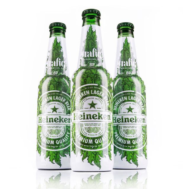 Trafiq Club Heineken Limited Edition on Packaging of the World - Creative Package Design Gallery