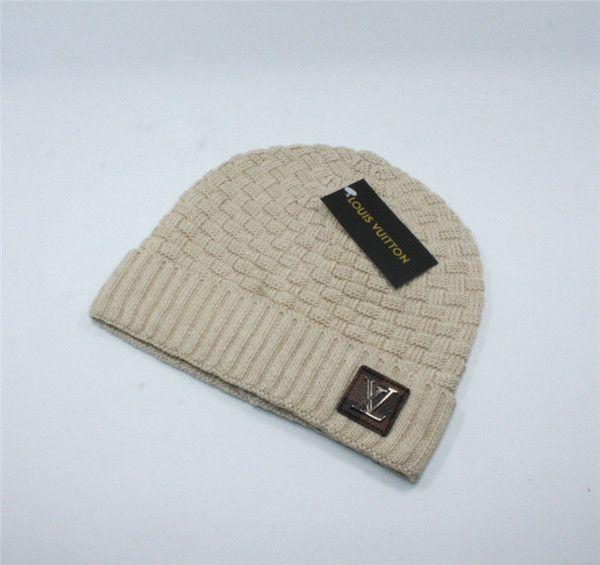 Mode Luxus Winter Hüte Herbst Winter Warm Halten Männer und Frauen Caps Berühmte Marke Designer E