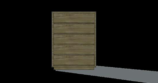 Free Woodworking Plans To Build A Vintage Fir 5 Drawer Dresser