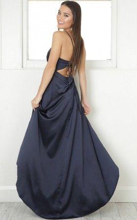 Rich Girl Maxi Dress In Navy F O R M A L In 2018 Pinterest