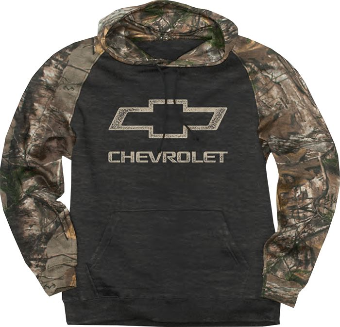 3fc504971eea Chevrolet Sweatshirt | Chevrolet Hoodie - ChevyMall | Want | Camo ...