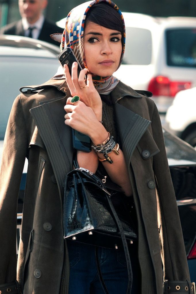 STREET STYLE: Miroslava Duma from Citizen Couture #streetstyle #fashion