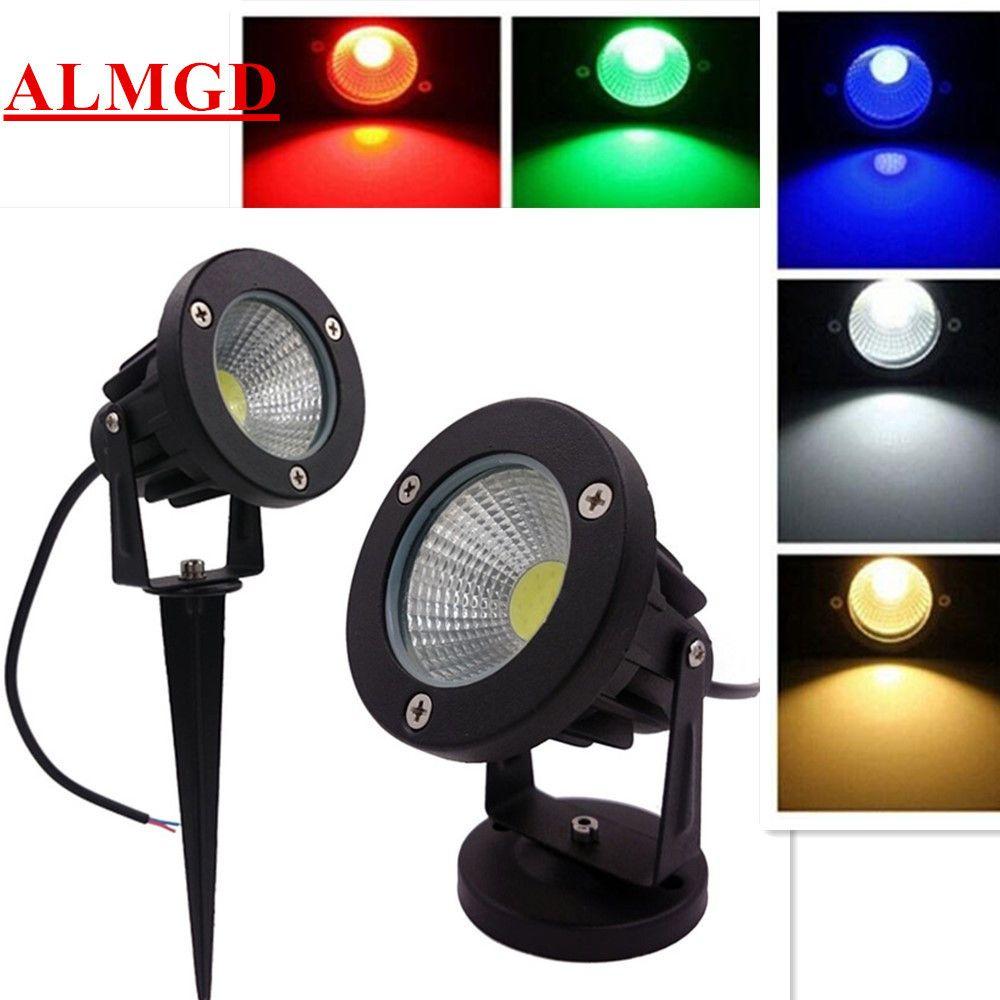 3W 5W 7W 10W Outdoor Garden Light 220V LED Lawn Lamp COB