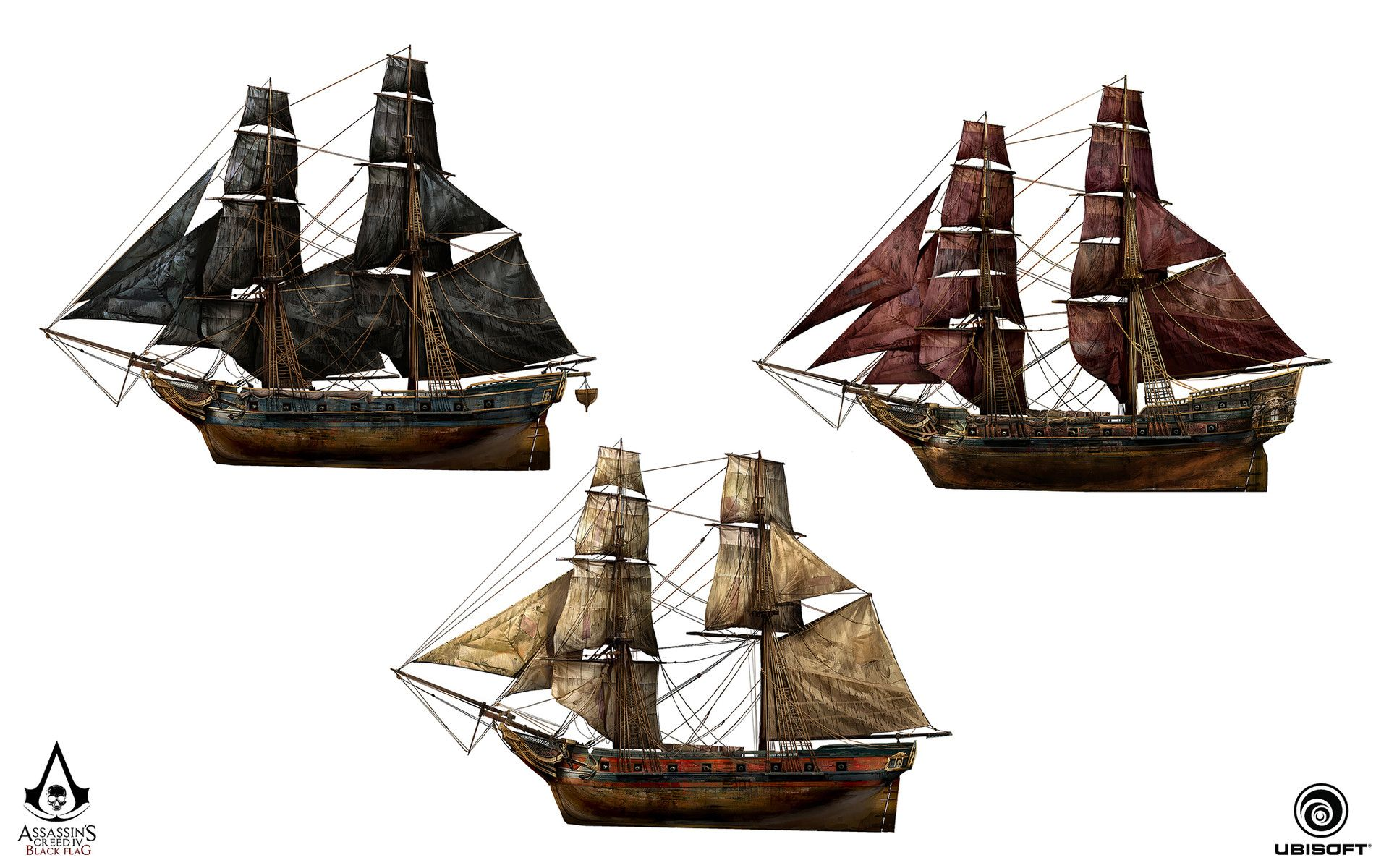 Assassin S Creed Iv Black Flag Jackdaw And The Rouge Design Teo Yong Jin Assassins Creed Black Flag Assassins Creed Jackdaw