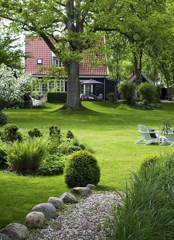 Photo of LIVING IN THE AREA IN DENMARK / A DANISH COUNTRY HOUSE – garden