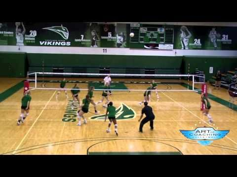 19 V 11 Team Volleyball Drill Coaching Volleyball Volleyball Drills Volleyball Skills