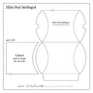 mini tui berlingot explications de r alisation tape par tape bo tes packaging. Black Bedroom Furniture Sets. Home Design Ideas