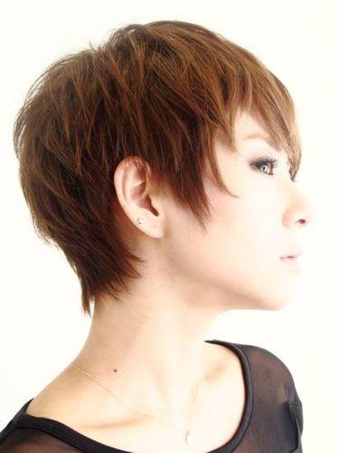 大人の絶壁解消ショート ショート ヘアスタイル ヘアカット 髪型