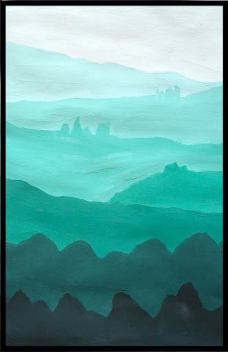 Value Landscapes Monochromatic Art Value In Art Elements Of Art