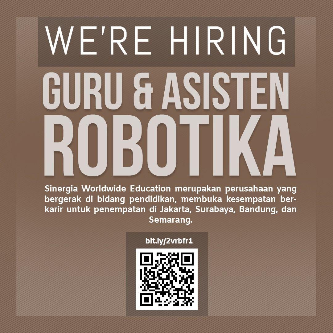 Info Lowongan Guru Dan Asisten Robotika Selengkapnya Cek Gambar