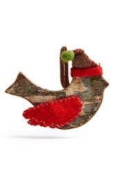 Shea's Wildflower Christmas Bird Ornament
