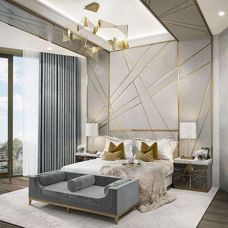 30 Gorgeous Luxury Art Deco Bedroom Design Ideas That Is